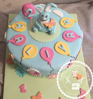 Kikaninchen Torte Zum 2 Geburtstag Von Aaliyha Sabsi S Blog