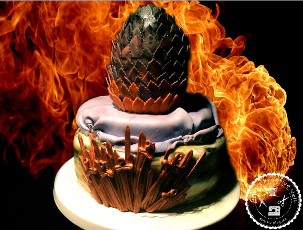 Game Of Thrones Torte 3d Drachenei Sabsi S Blog