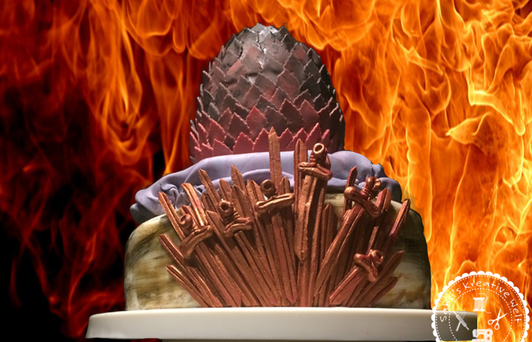 Game of Thrones Torte/3D Drachenei