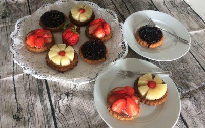 Klassischer Mürbeteigboden für Obsttörtchen / Obstkuchen / Grundrezept