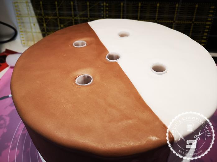 3 Stöckige Milch Schokolade Hochzeitstorte Sabsis Blog