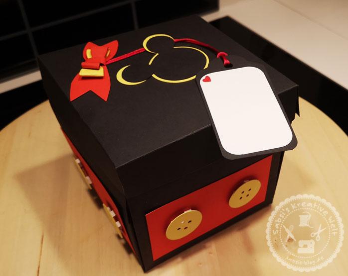 Explosionsbox Micky Maus